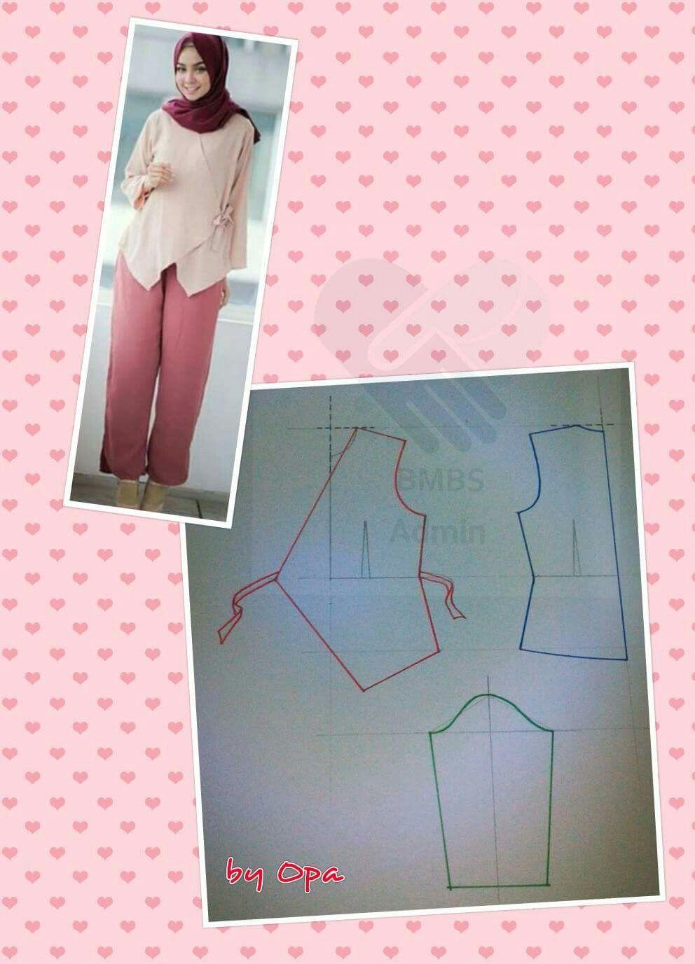 Pin von Elly Susanti auf kemeja   Pinterest   Blusen und Garderoben