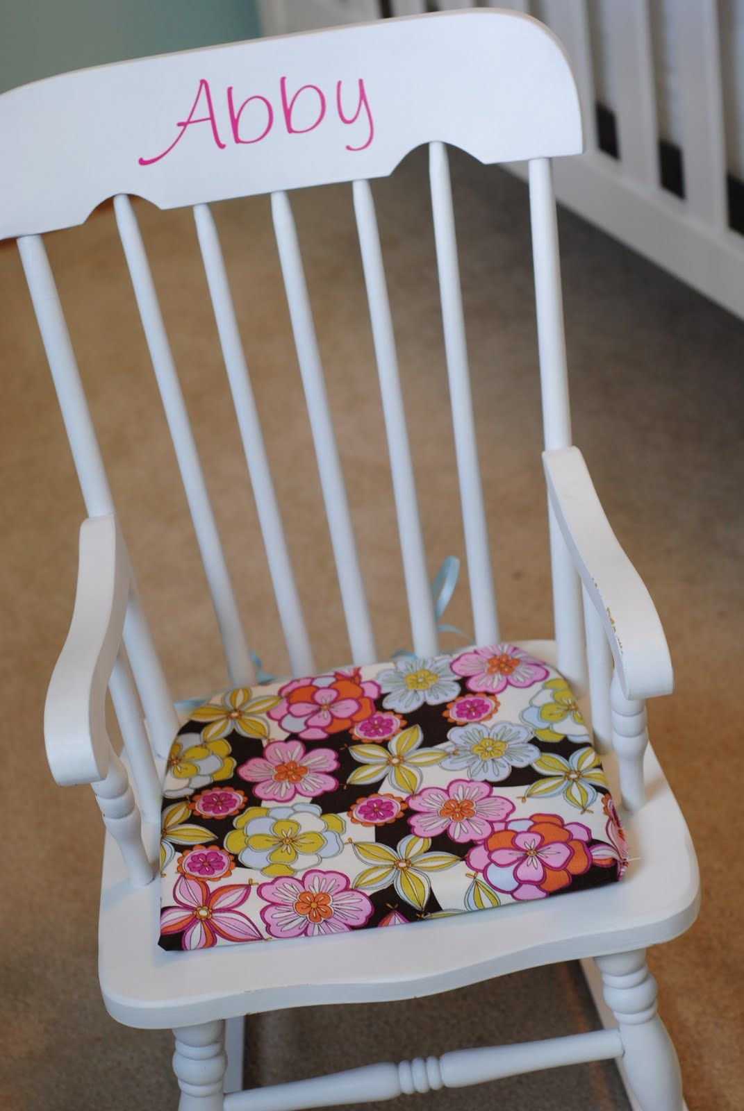 mini rocking chair standing desk chairs personalized for the little one so