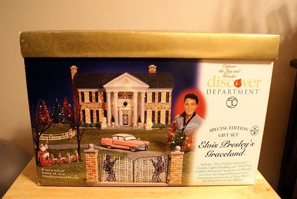 Elvis Presley's Graceland Dept. 56 Special Edition ...