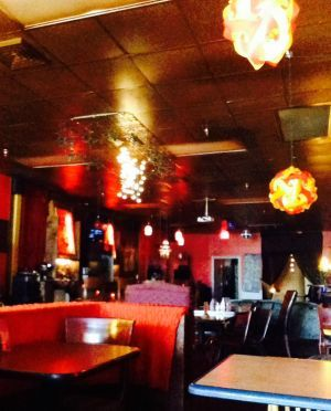 Rojo serves Mediterranean and Mexican style food and specializes in fresh ingredients.