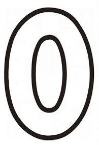 0 Rakamı Matematik Math Number Tracing Math Ve Numbers