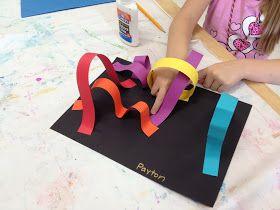 COLOR for EVERYONE: Kindergarten Roller Coasters