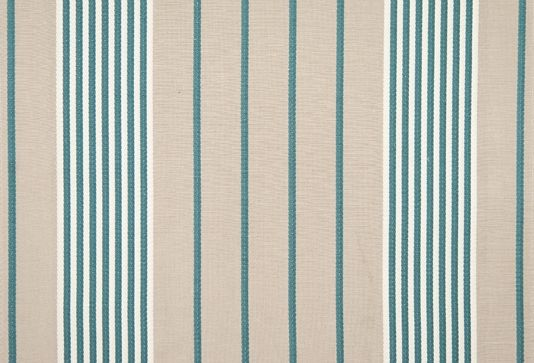 Refrain Striped Fabric Striped Cushions Striped Fabrics Teal