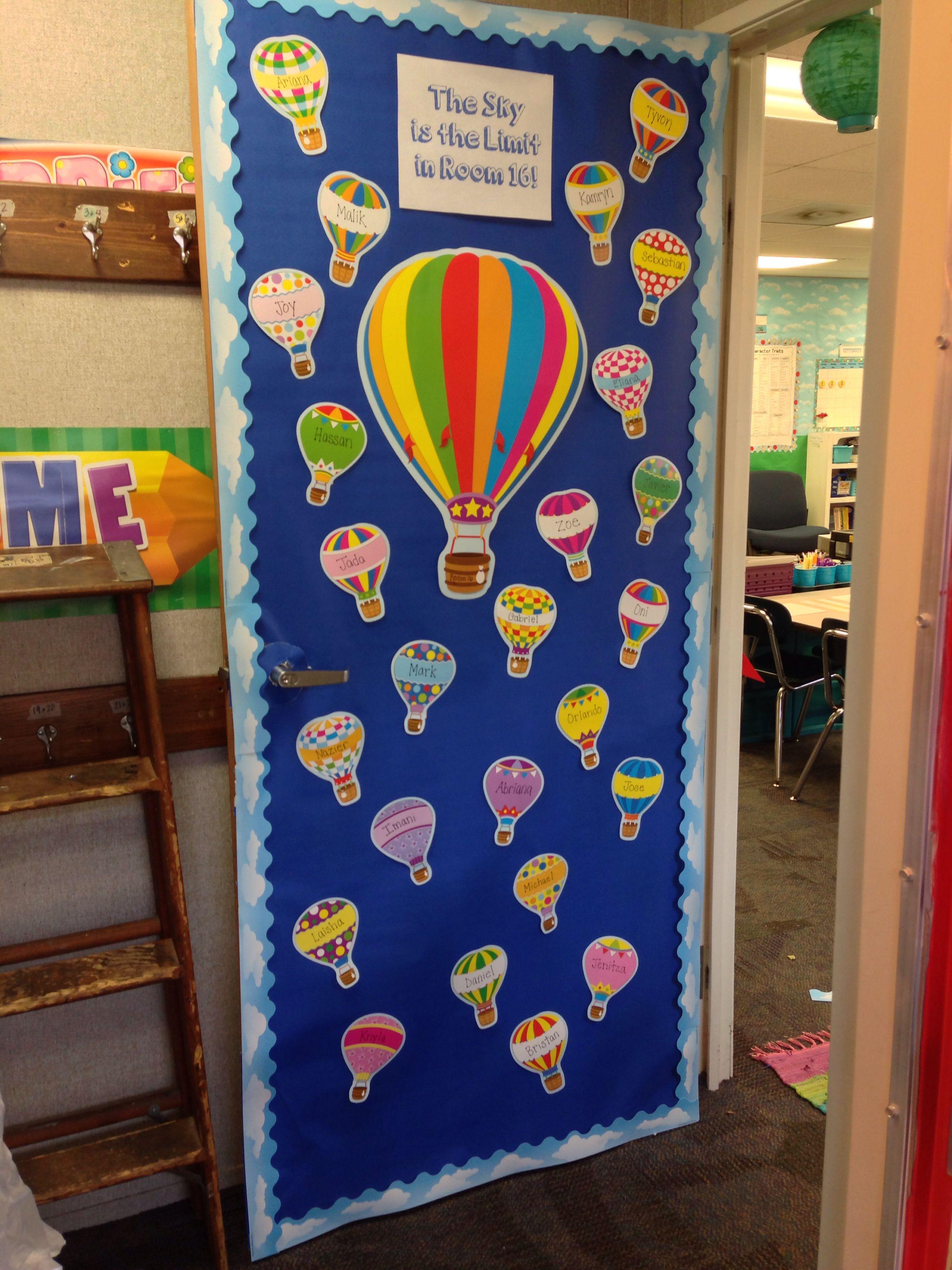 Beginning of the school year door | School door ...