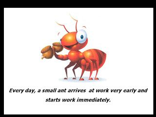 The Ant A Fable... Or May be not.... | goodywebs - Fun and Inspiration