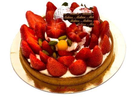 Tarta fresa y mascarpone