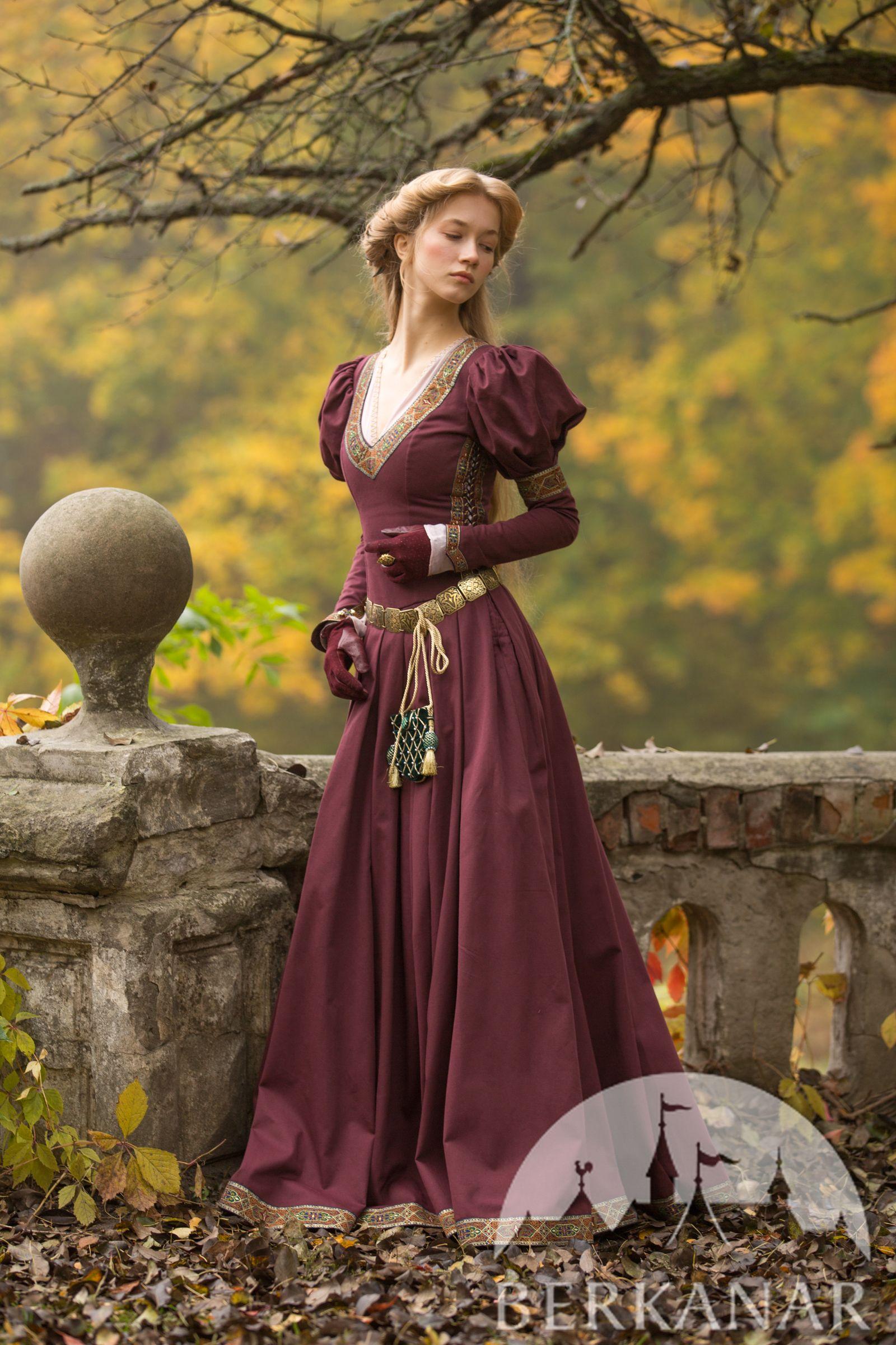 Средневековое платье «Принцесса в изгнании» | Платья ...