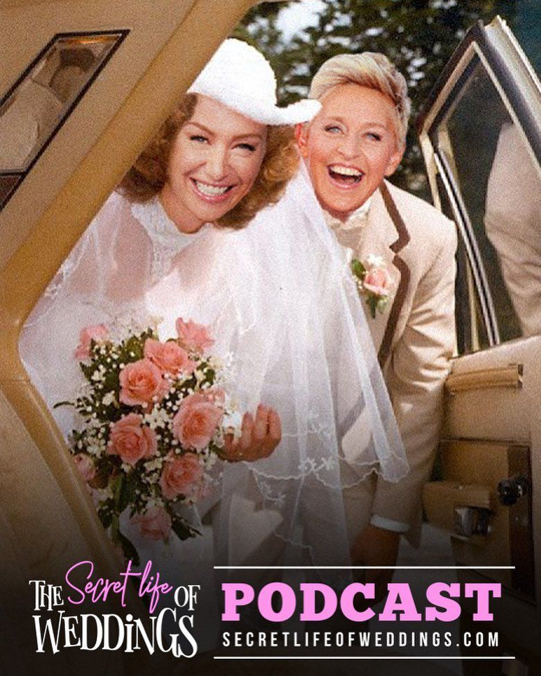 Portia De Rossi Wedding Gown: Ellen And Portia, Got Married, Wedding