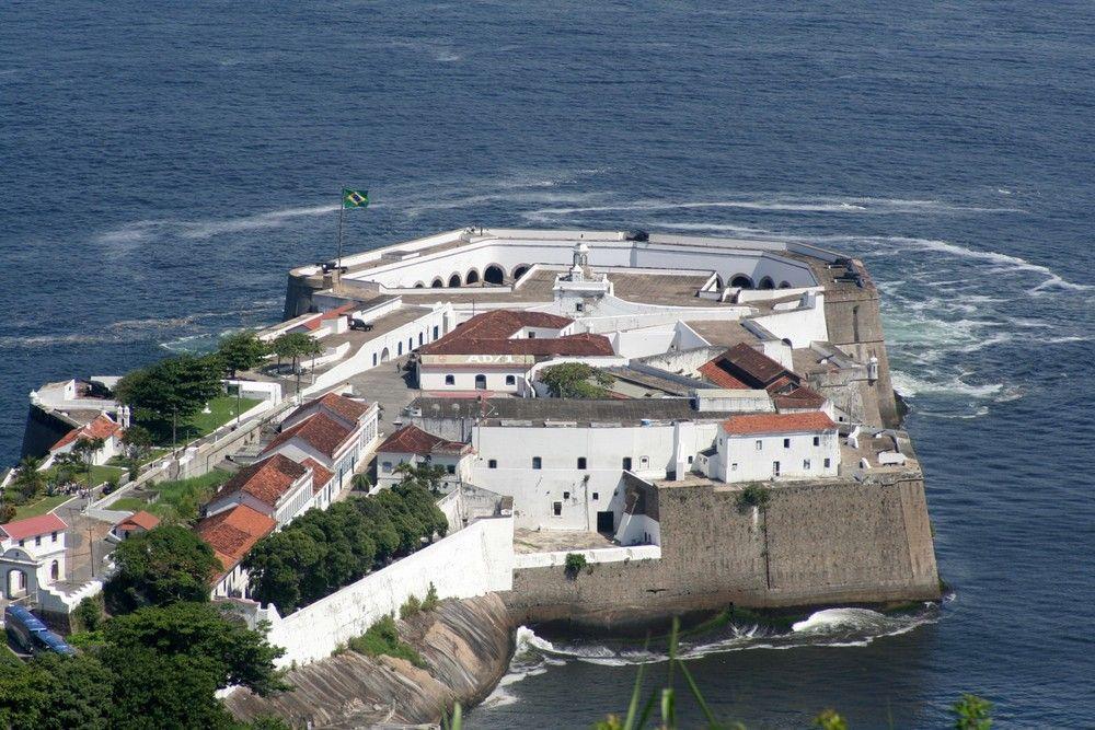 Fortress Of Santa Cruz Niteroi Rio De Janeiro Brasil Great