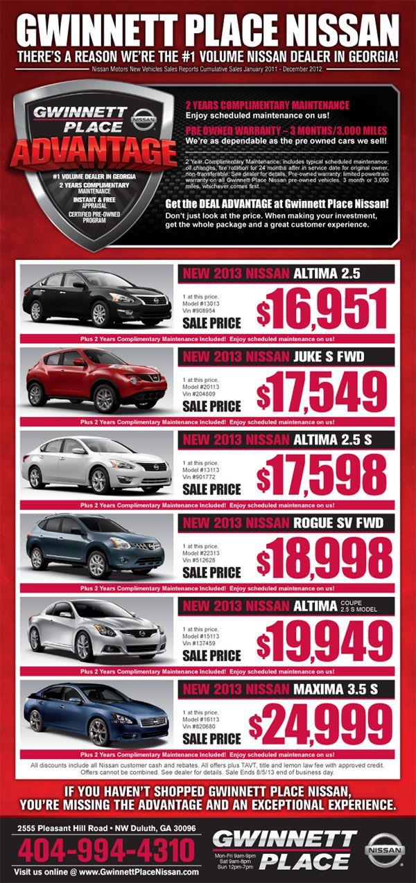 Car newspaper ads google search newspaper ad designs for Gwinnett place honda service