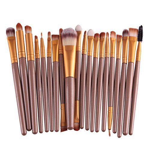 Beautiful Buytra 20-Piece Makeup Brushes Makeup Brush Set Cosmetics Foundation Blending Blush Eyeliner Concealer Face Powder Brush