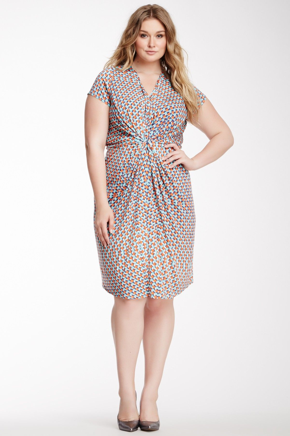 Leota | Short Sleeve Catherine Dress - Plus Size | Frocks | Dresses ...