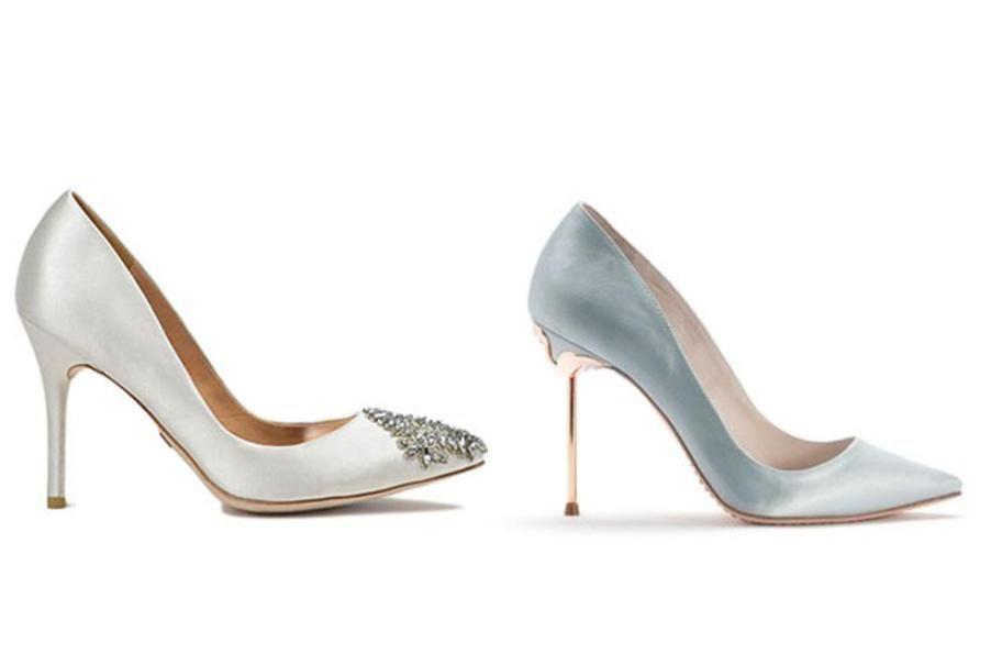 Wedding Shoes Glamour Weddingshoes Bridalshoes Badgley Mischka Sophia Webster Rhodes