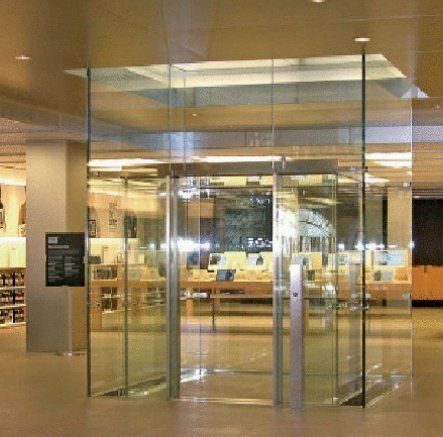 Apple Store Lift Made By Apex Lifts Completely Glass Doors Cost