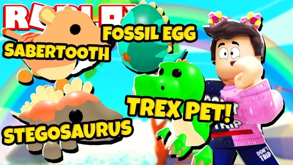 Games New Fossil Egg Update In Adopt Me New Adopt Me Dinosaur Pets Roblox In 2020 Pokemon Eeveelutions Dinosaur Stuffed Animal Adoption