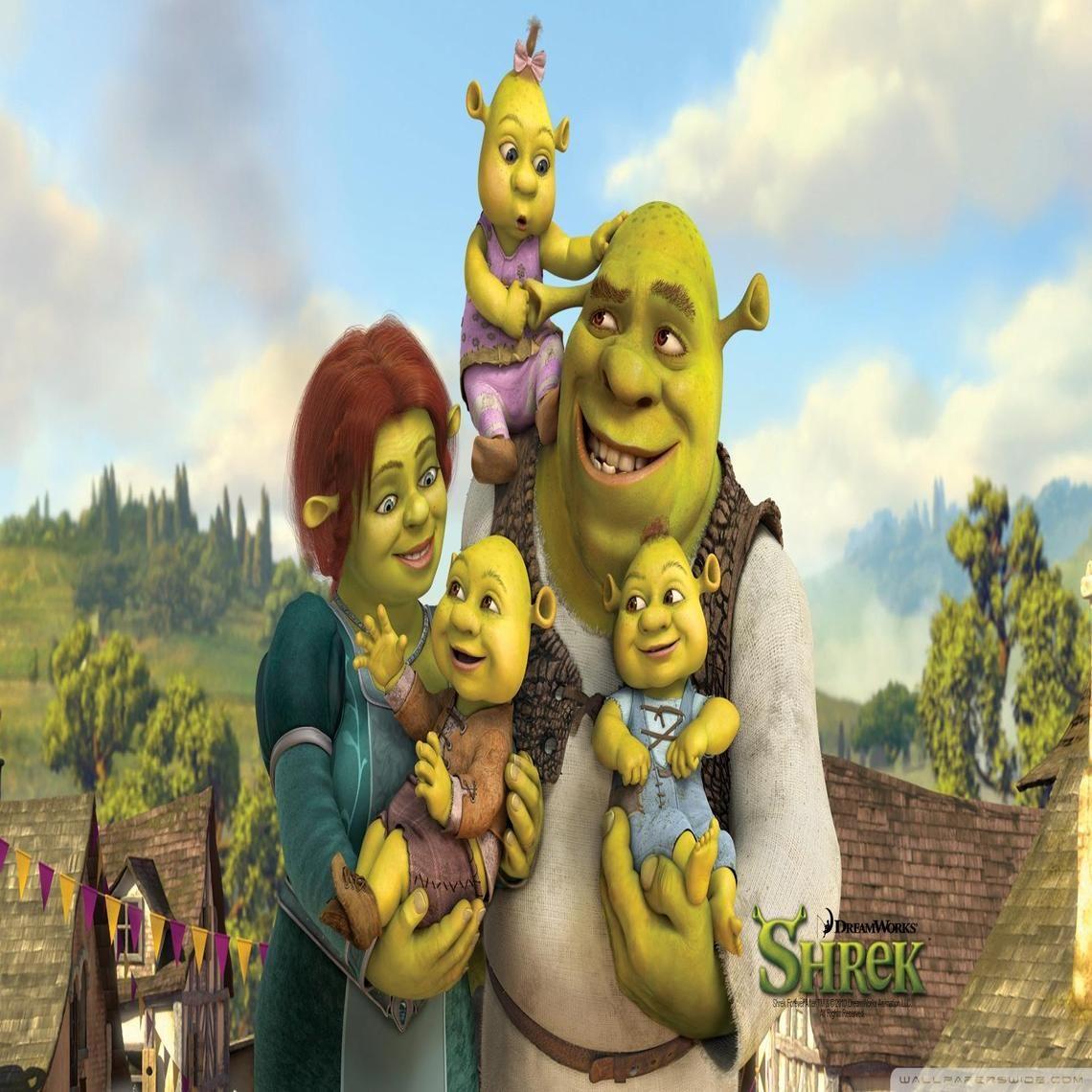 Shrek The 4th Shrek Filmes Infantis Fiona E Sherek