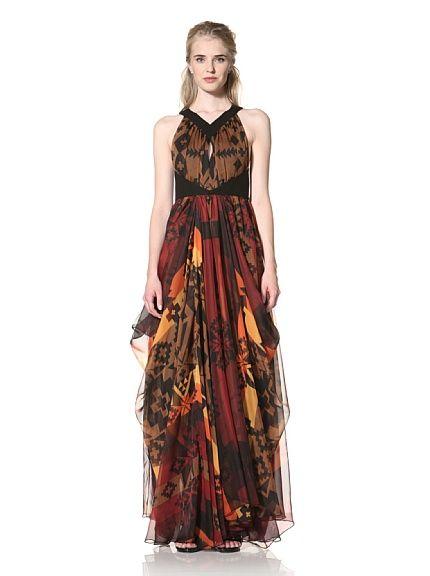 Evening Dresses Fall Colors