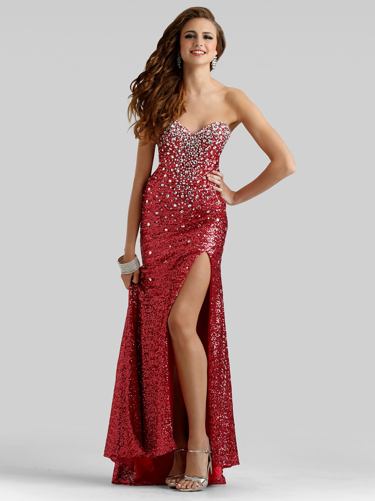 This stunning clarisse prom dress will no doubt turn heads and make