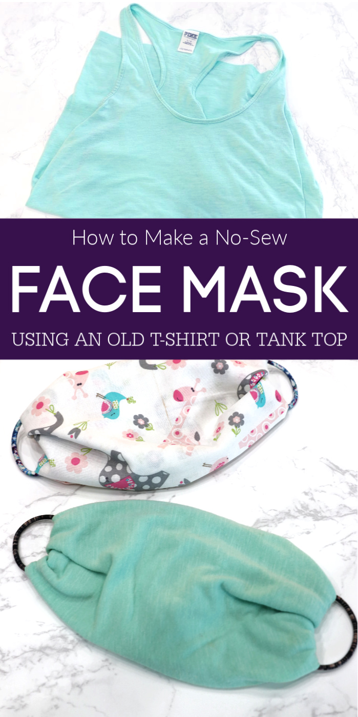 Photo of How to Make a No-Sew Face Mask Using a T-Shirt or Bandanna