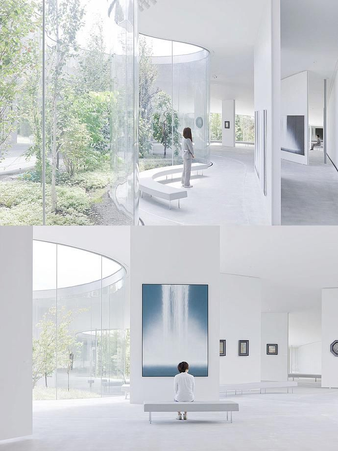 Hiroshi Senju Museum By Ryue Nishizawa With Images