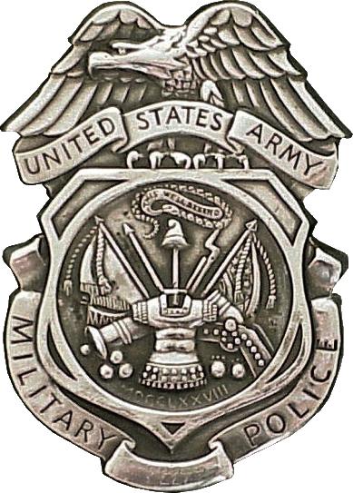 United States Army Military Police Car Emblem