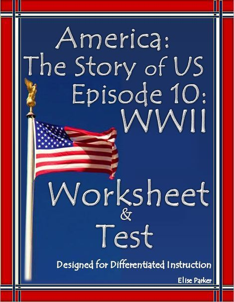 America The Story Of Us Episode 10 Quiz And Worksheet Social