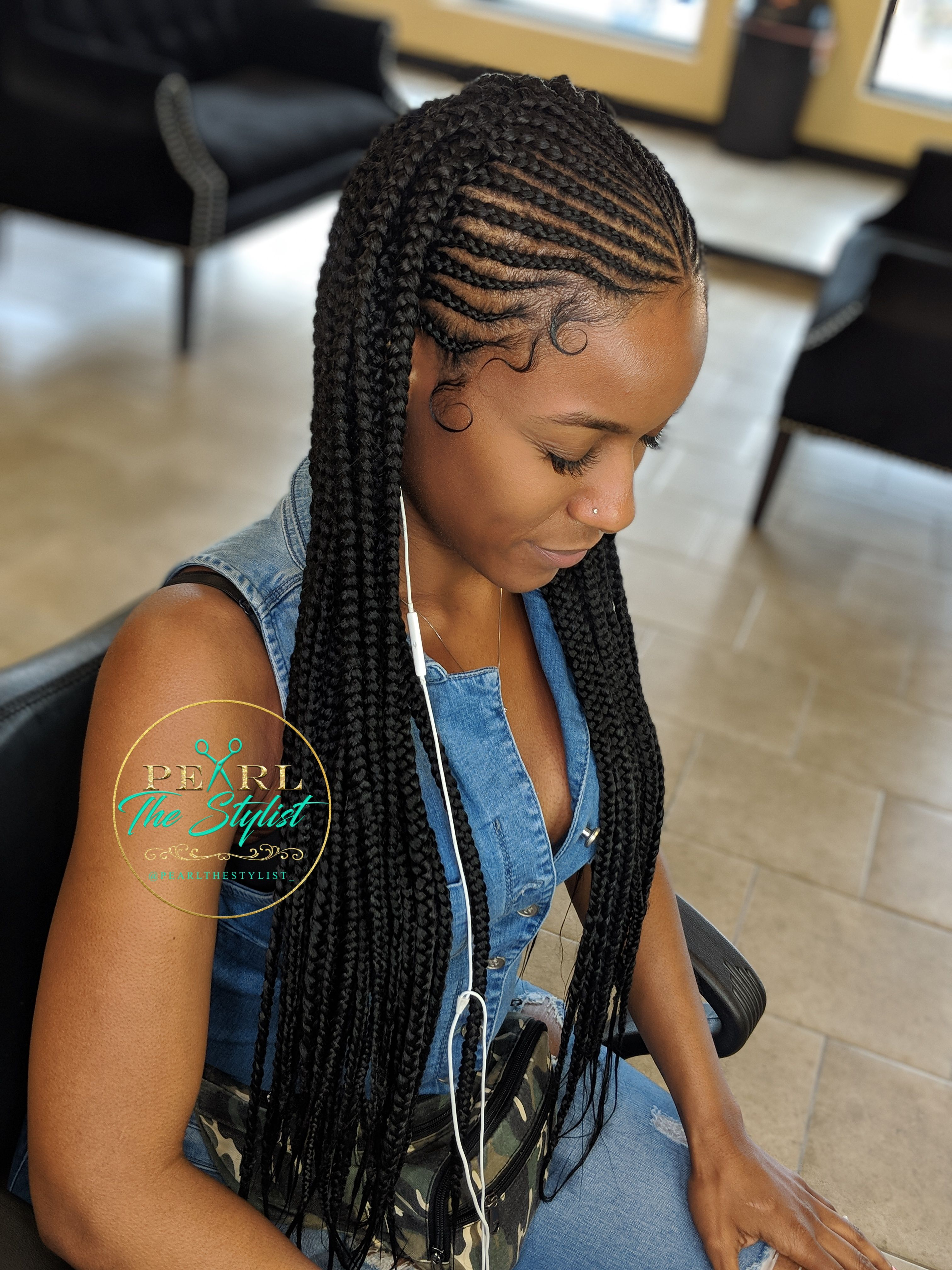 Tribal Braids @Pearlthestylist_ in 2019