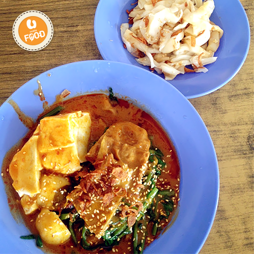 Need To Grab A Quick Bite Head On Over To Taman Mayang Jaya For Some Delicious Curry Chee Cheong Fun A Rice Noodle Roll Curry Chinese Rice Noodles