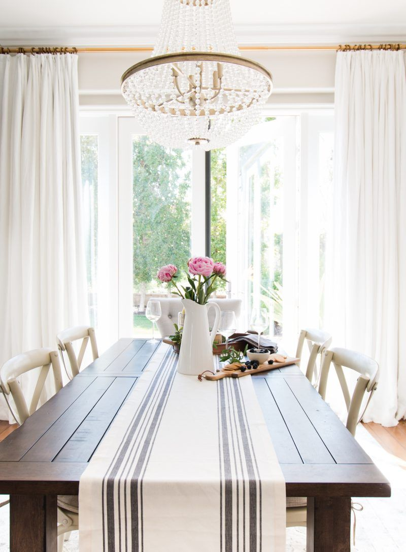 Dining room window coverings  tips for choosing the right window treatments  a thoughtful place