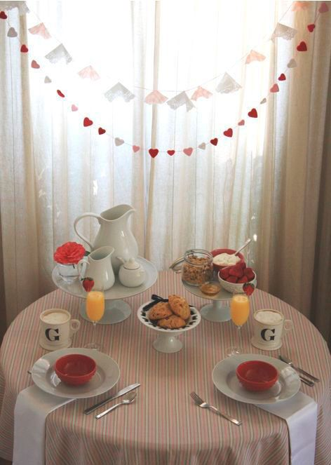 Photo of Romantic Breakfast »50 Beautiful and Surprising Ideas!