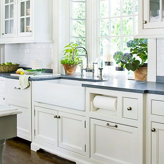 Sinks, Vintage And Kitchens