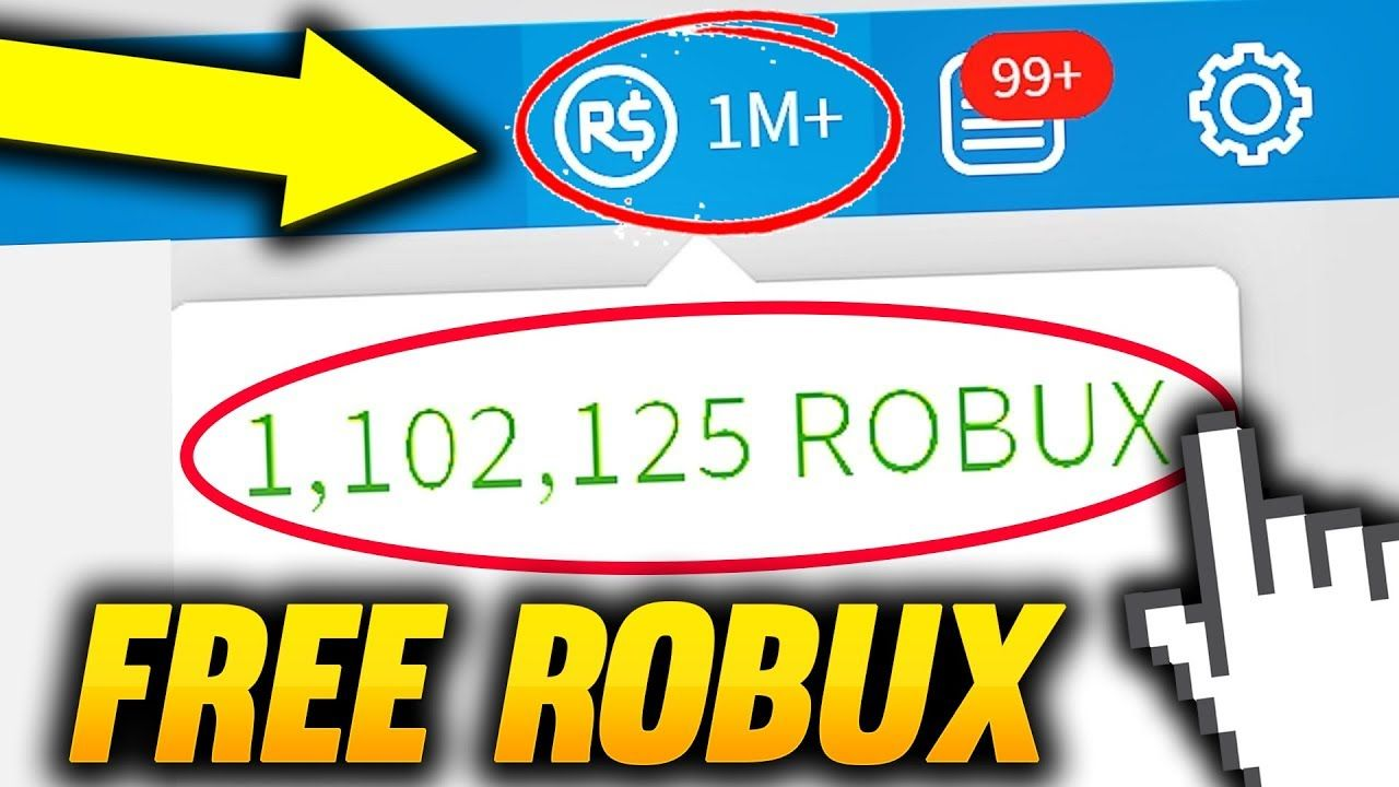 Free 1 Million Robux Glitch 2018 Free Robux Free Robux On - roblox free accounts with robux websites