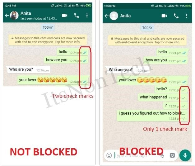 How Will You Know If Someone has Blocked You on WhatsApp