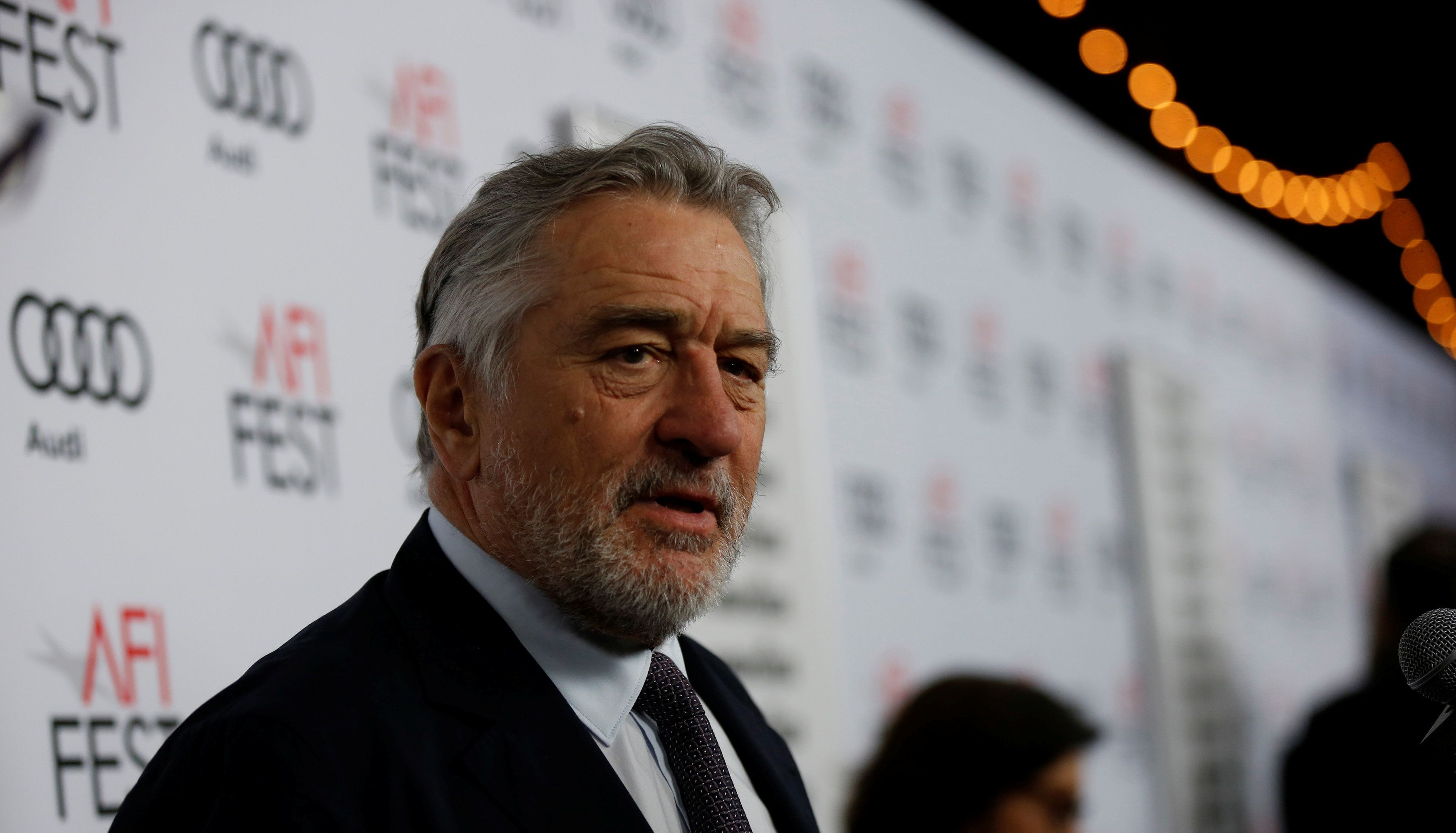 Image result for Actor Robert De Niro 'done' with Trump supporters
