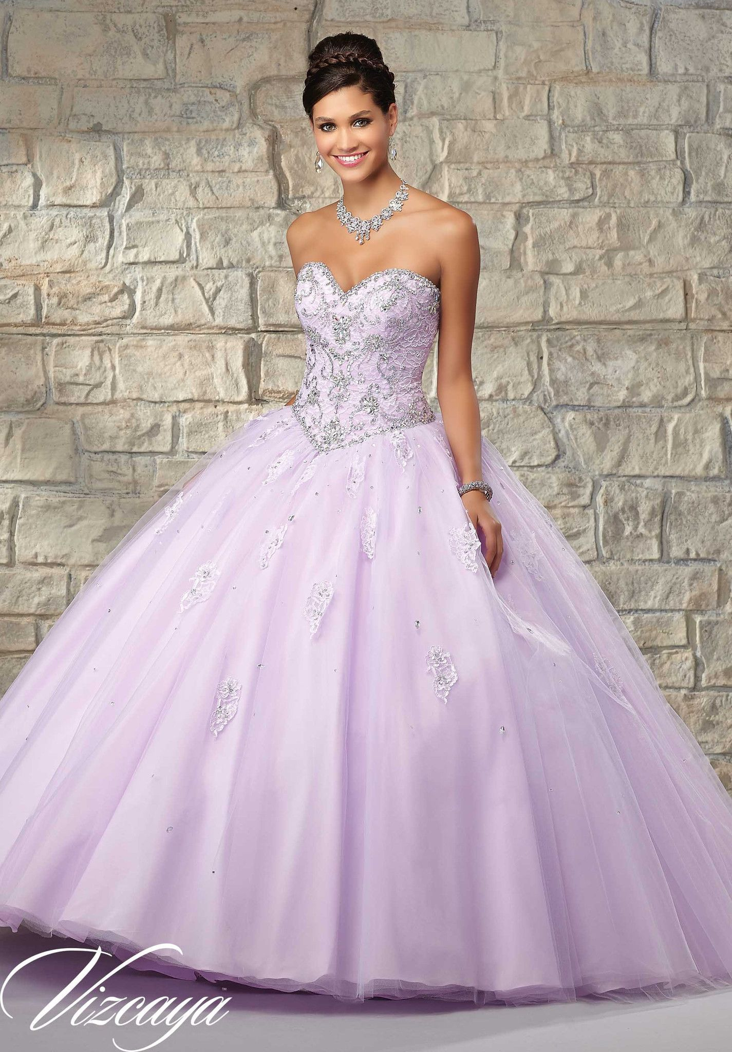 Mori lee vizcaya quinceanera dress style is made for girls who