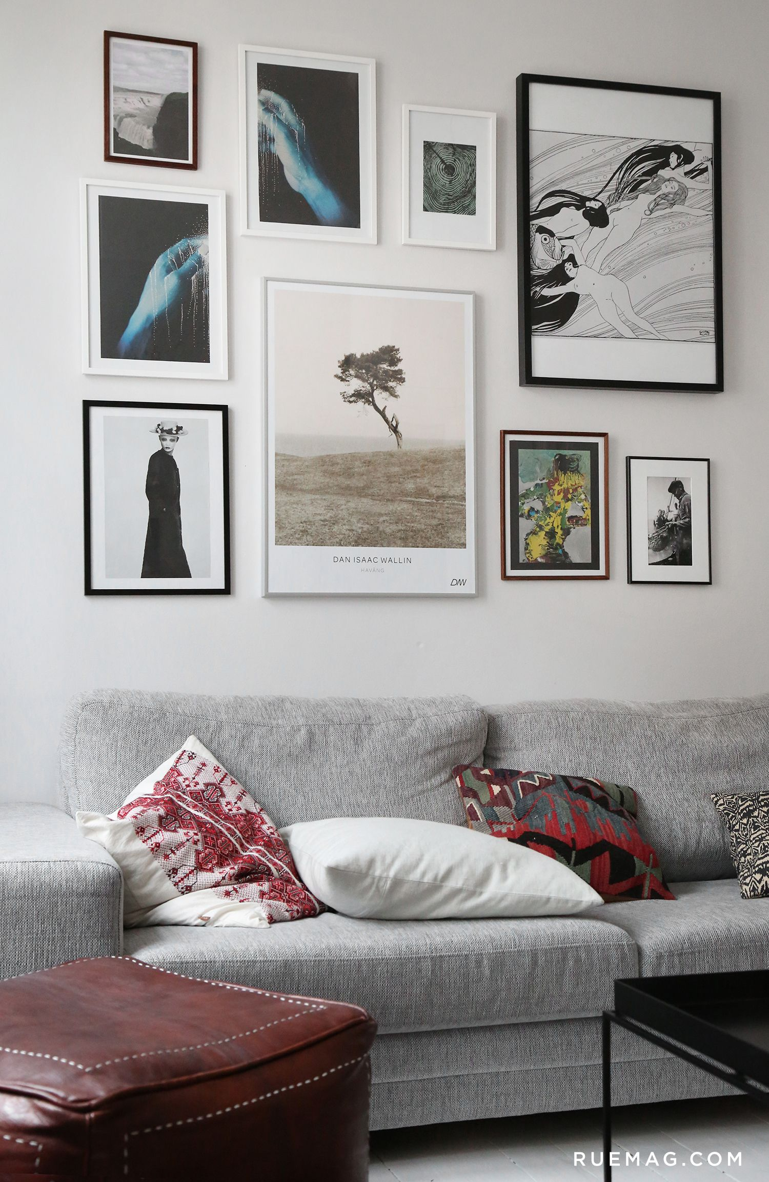 13 Gallery Walls To Be Inspired By Wall Art Decor Living Room Living Room Decor Apartment Decor