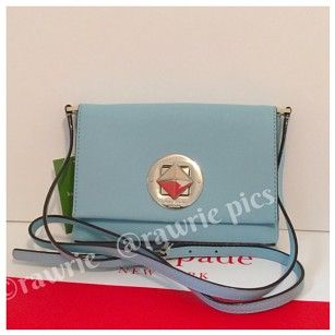 8fa65f56dff Kate Spade Flap Saffiano Leather Small Shoulder Bag | Bags,Packs ...