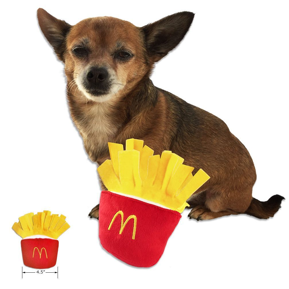French Fry Fun Small Dog Toy Small Dog Toys Dog Toys Best Dog Toys