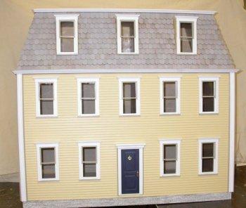 Hillsboro Milled Dollhouse Kit Dollhouse Kits Victorian Dollhouse Clapboard Siding
