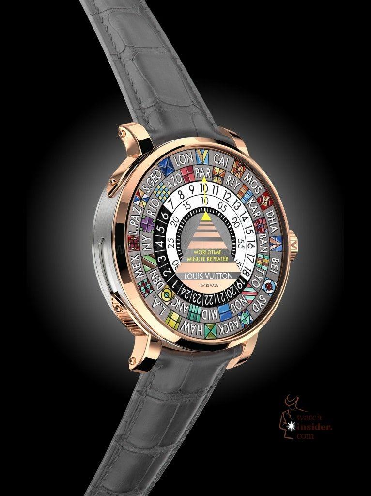 Louis Vuitton Escale Minute Repeater Worldtime