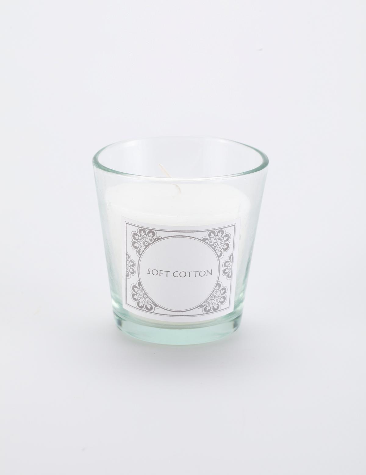 Scent doftljus vit | Deco candles | Candle | Ljus & lyktor | Inredning | INDISKA Shop Online