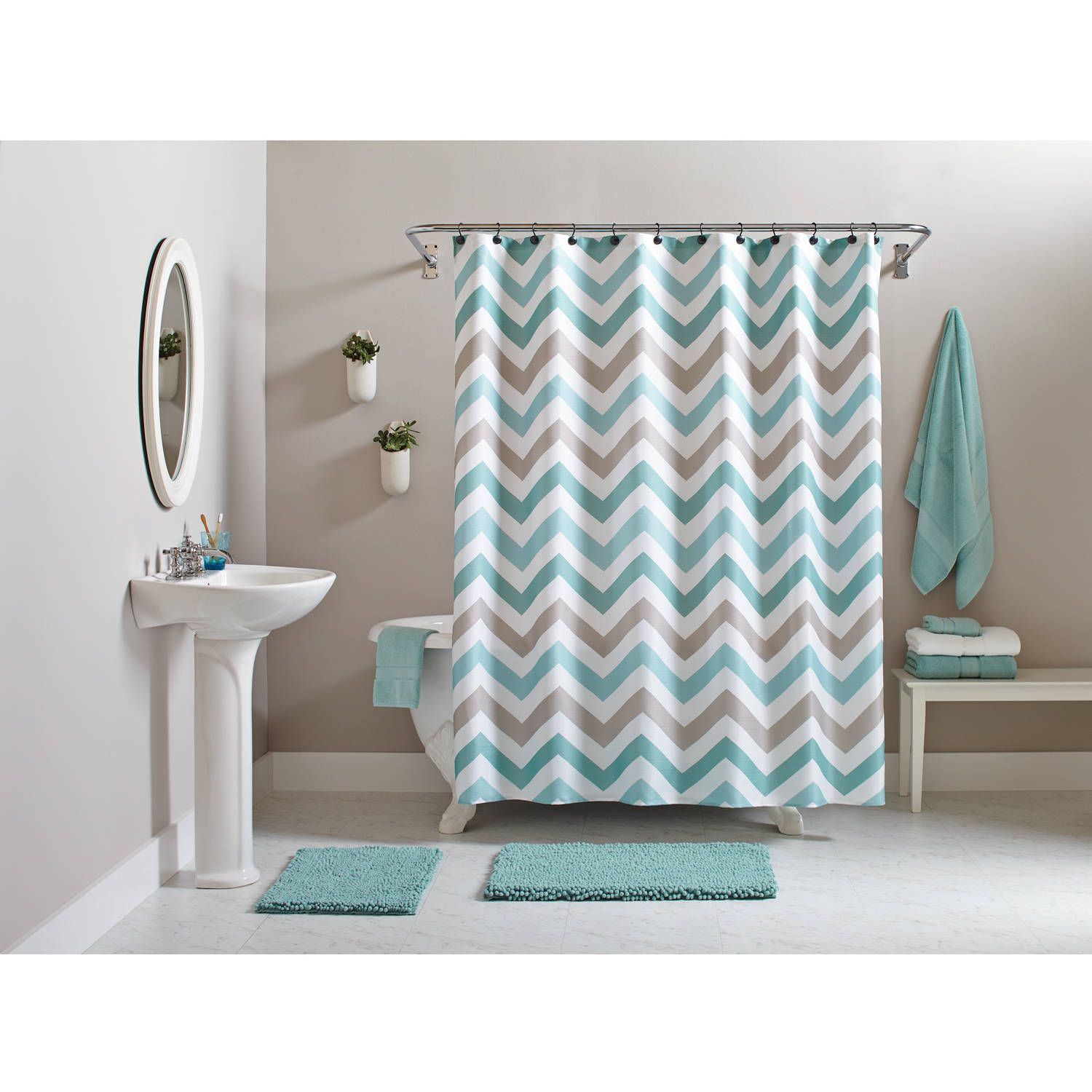 Get A New Look Of Bathroom With Elegant Bathroom Decor Sets With