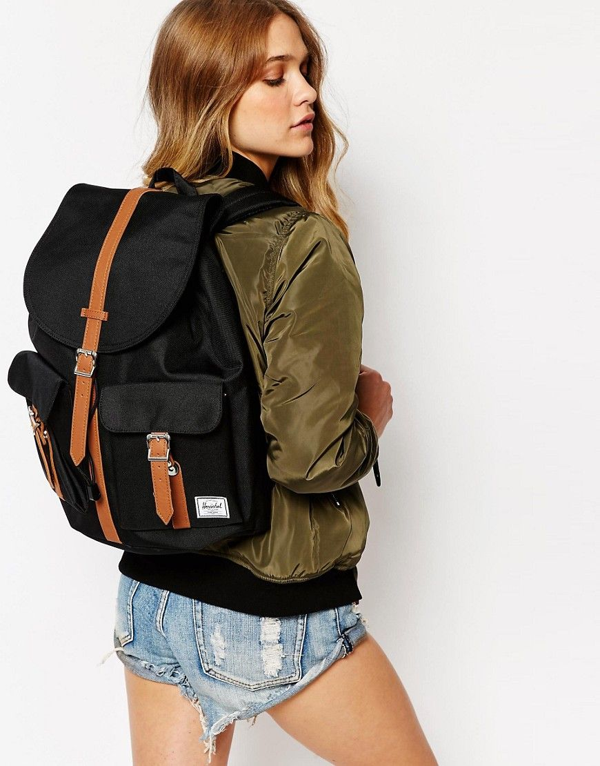 Image 3 of Herschel Supply Co Dawson Backpack in Black with