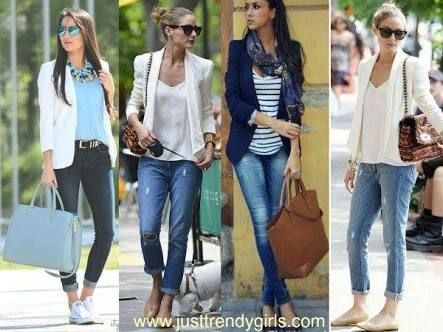 womens blazer outfit ideas - Google Search