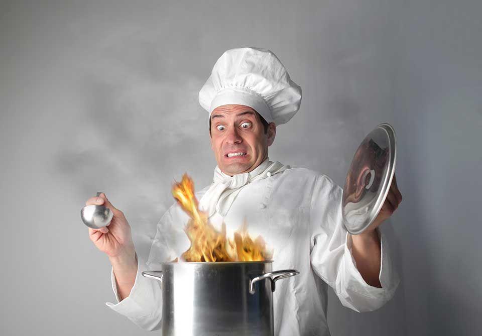 Мужчина повар смешные картинки