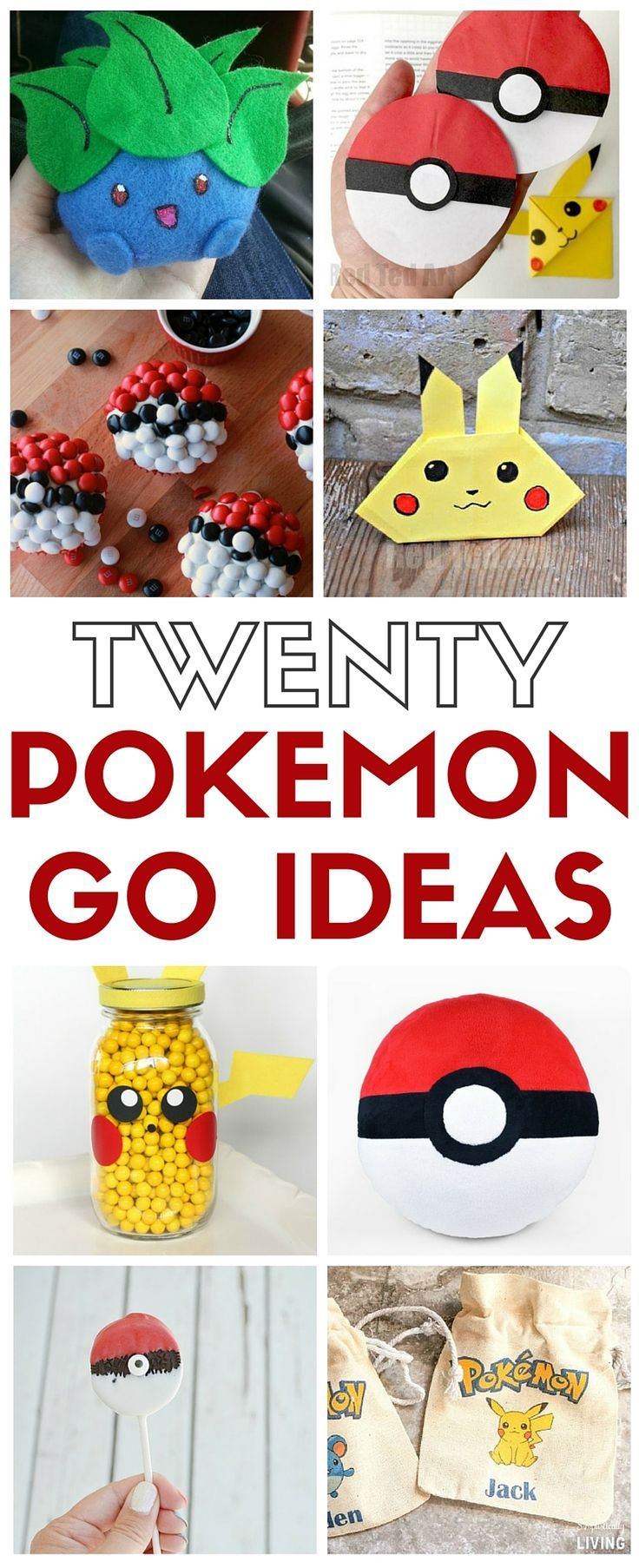 How To Make 20 Pokemon Go Craft Ideas Ideas For Kids Pokemon Go