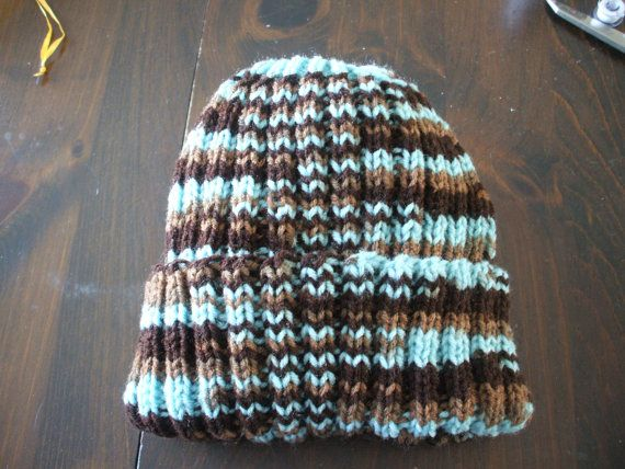 Knitted Beanie by MillineryMary on Etsy
