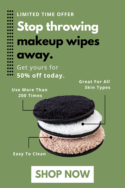 Clean Sponge Reusable Makeup Remover Pad in 2020