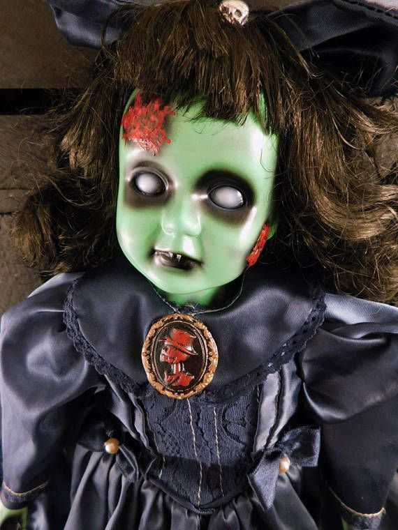 Ambrosine 16 OOAK Porcelain Horror Doll Halloween Horror Show - halloween horror costume ideas