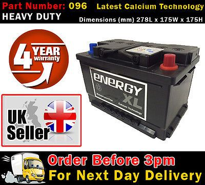 #Energy xl 096 car #battery 4 year #warranty alfa romeo, audi and more,  View more on the LINK: http://www.zeppy.io/product/gb/2/261677018042/